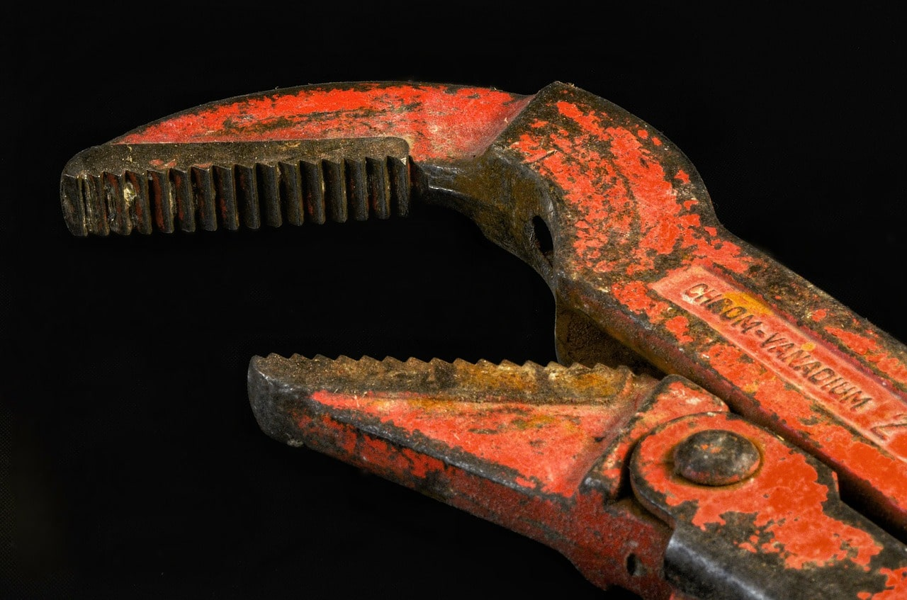 Pipe wrench in Brussel